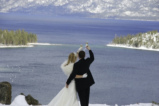 High Mountain Weddings South Lake Tahoe California 1