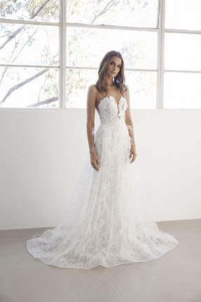 7b4831cf886ef 92+ Off The Shoulder Wedding Dresses Kleinfeld - Pnina Tornai Via ...
