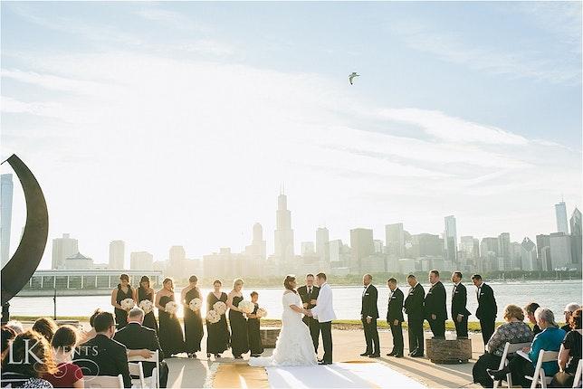 adler planetarium downtown chicago wedding venues downtown chicago