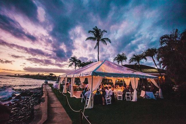 Beach House Restaurant Poipu Kauai Weddings Hawaii Wedding