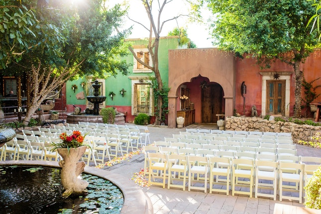 Boojum Tree Hidden Gardens Phoenix Weddings Central Arizona