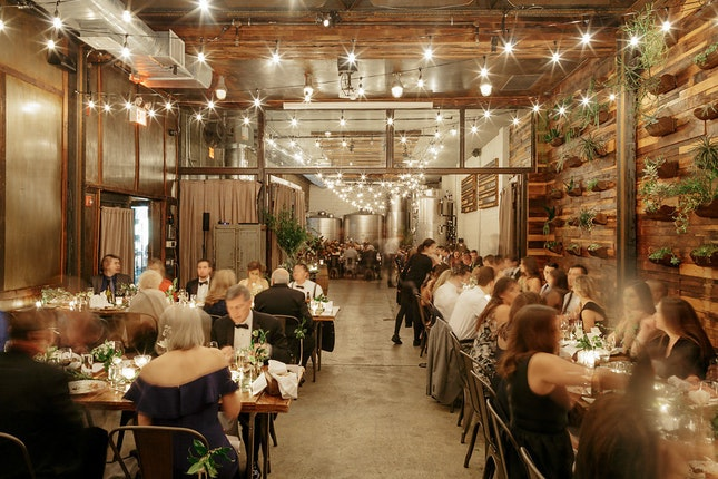 Brooklyn Winery Wedding.Brooklyn Winery Williamsburg Weddings New York Wedding