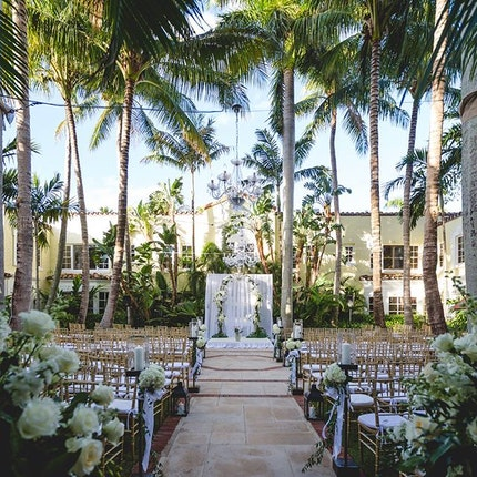 Cafe Boulud At The Brazilian Court Hotel Weddings Palm Beach Wedding