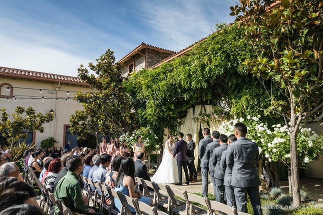 Casa Real at Ruby Hill Winery Wedding in the Bay Area
