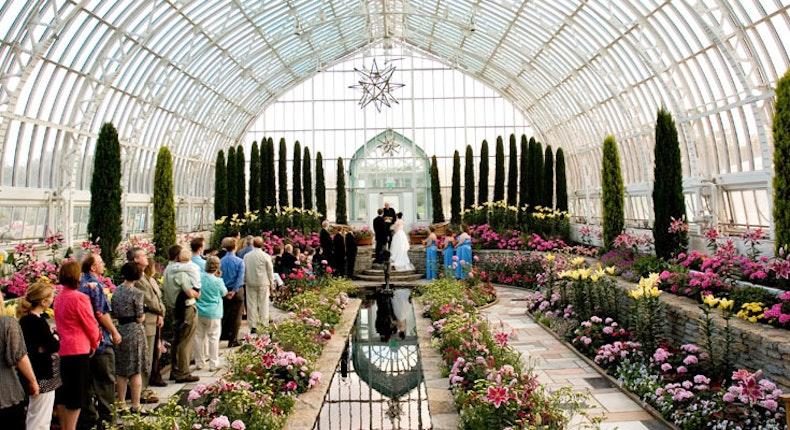 Como Park Zoo And Conservatory Weddings Minneapolis Wedding Venue