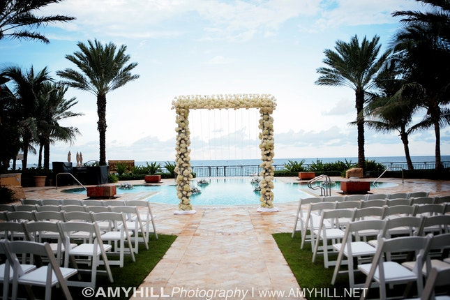 Eau Palm Beach Resort And Spa Manalapan Weddings Florida Wedding