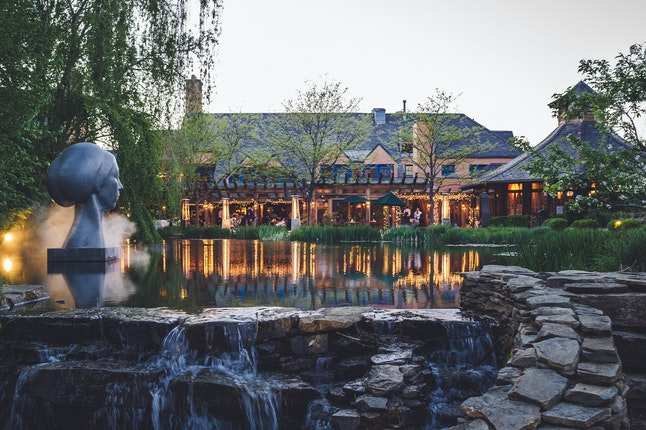 Weddings at grounds for sculpture hamilton township