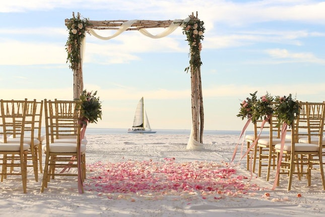 Hilton Clearwater Beach Resort And Spa Tampa Bay Wedding Venue