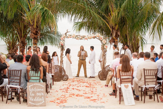 Key Largo Lighthouse Hidden Beach Weddings Florida Keys
