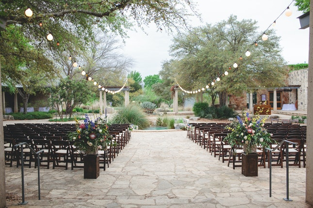 Lady Bird Johnson Wildflower Center Texas Wedding Venue