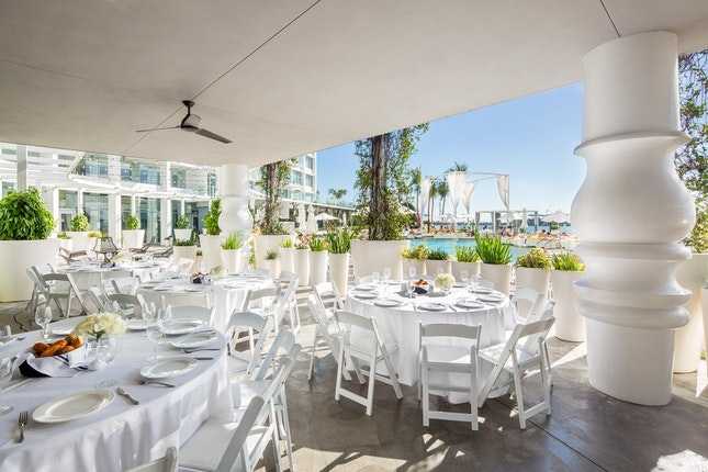 Mondrian South Beach Weddings Miami Ft Lauderdale Wedding