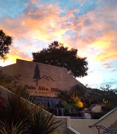 Palo Alto Hills Country Club Outdoor Wedding Venue in Palo