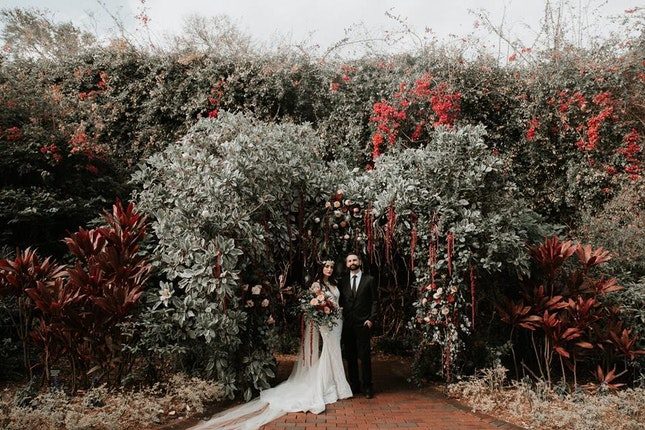 Sunken Gardens Wedding.Sunken Gardens Weddings Tampa Bay Wedding Venue St