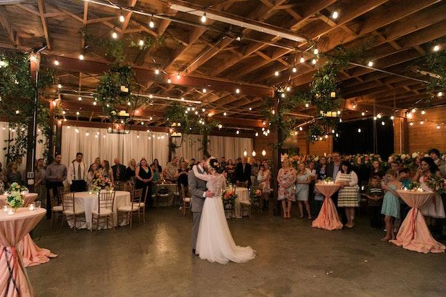 The Bowery Warehouse Weddings West Texas Lubbock Wedding Venue