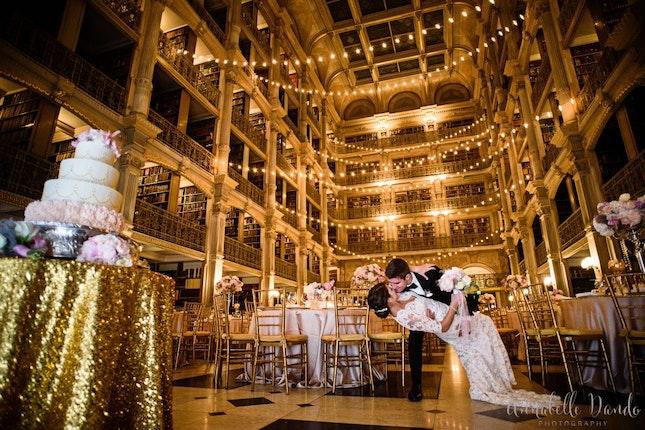 The George Peabody Library Weddings Baltimore Wedding Venue