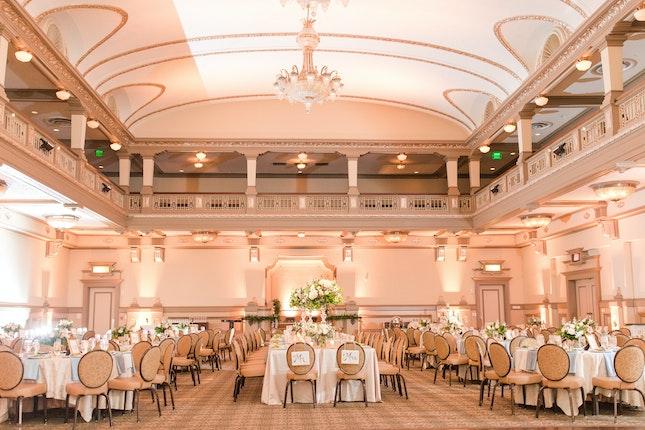 The John Marshall Ballrooms Richmond Weddings Virginia Wedding
