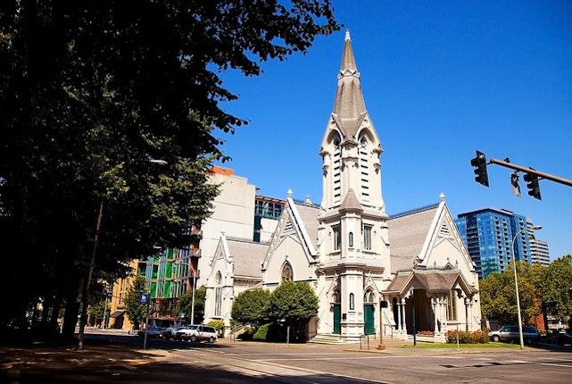 Old Church Portland Weddings Oregon Wedding Venues 97201