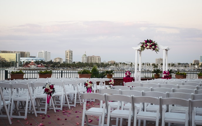 Long Beach Weddings Reef Restaurant Wedding