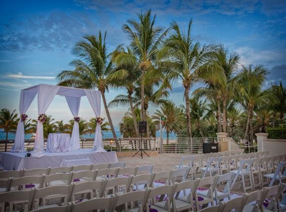 The Ritz Carlton South Beach Miami Weddings Fort