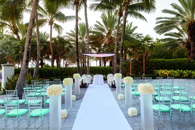 The Ritz Carlton South Beach Miami Weddings Fort