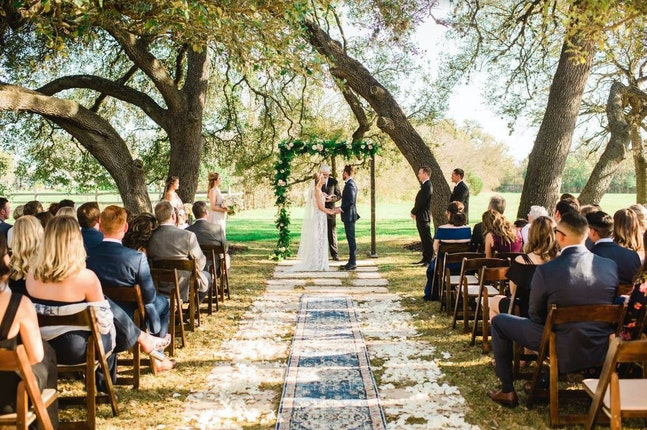 The Vineyards at Chappel Lodge Austin Weddings Texas Wedding