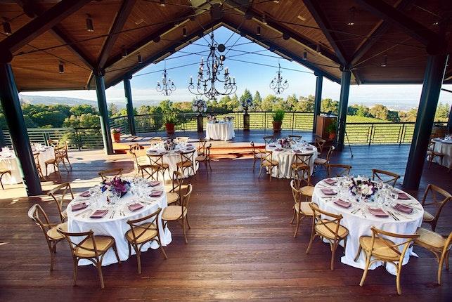 Thomas Fogarty Winery And Vineyards Peninsula Wedding Venues