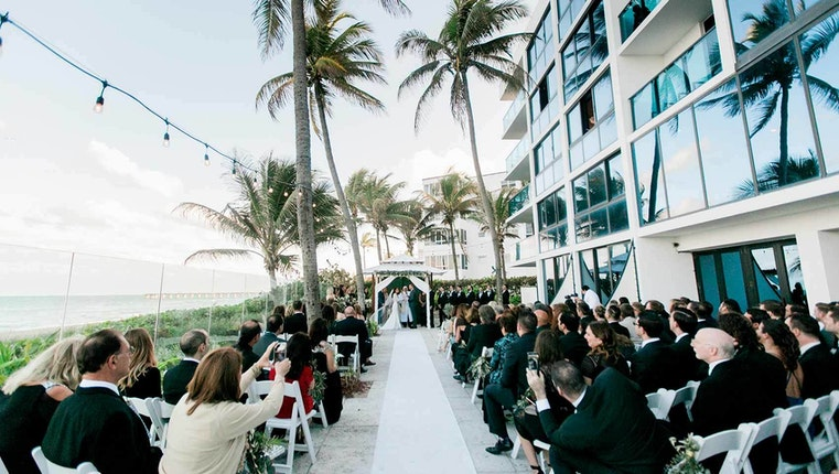 Tideline Ocean Resort Spa Weddings Palm Beach Wedding Venue Palm