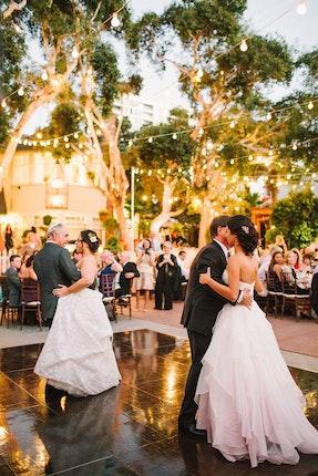 The Victorian Santa Monica Los Angeles Wedding Reception