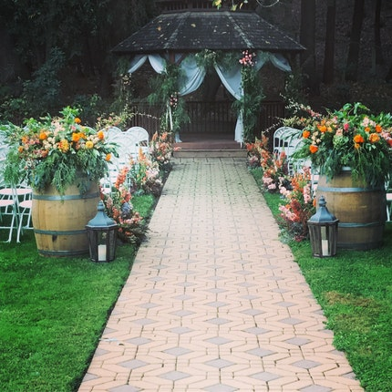 Villa Chanticleer Wine Country Wedding Venues Healdsburg CA ...